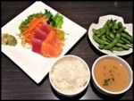 Sashimi Lunch $15.00