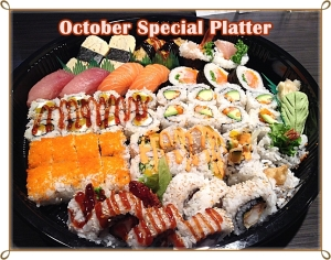 October Special Platter